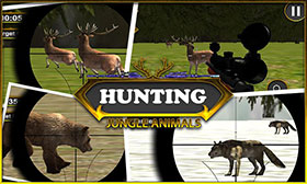 hunting-jungle-animals
