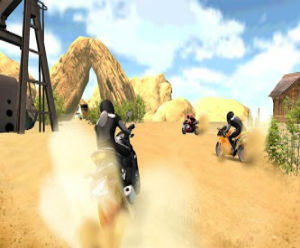 Motocross racing game FREE 1