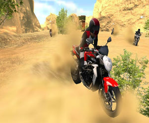 Motocross racing game FREE
