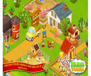Farm Town Cartoon Story 2