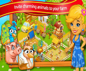 Farm Town Cartoon Story