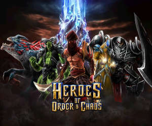 Heroes of Order Chaos 1