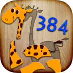 Game 384 Puzzles for Preschool Kids