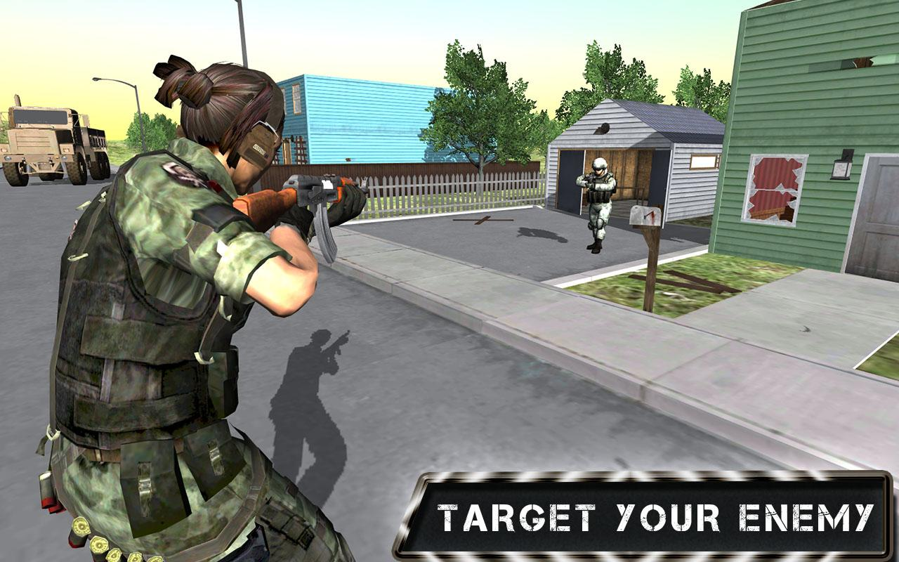 download Commando Sarah  Action Game free download for mobile 3