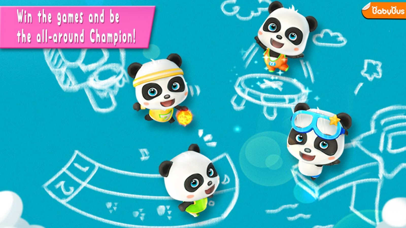 download game Panda Sports Games - For Kids free download 1