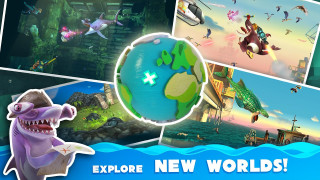 download Game Hungry Shark World free download for mobile 3
