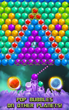 download game Bubble Puzzle Space free download for mobile 3