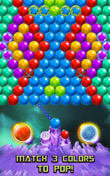 download game Bubble Puzzle Space free download for mobile 4