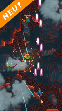 download game Retro Shooting - Pixel Space Shooter 3D free for mobile 1