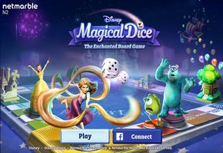 Disney Magical Dice The Enchanted Board Game-2
