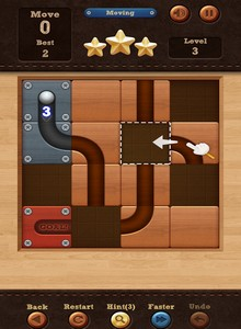 Game Roll The Ball slide puzzle -4