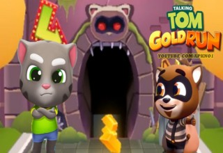 Talking Tom Gold Run 3