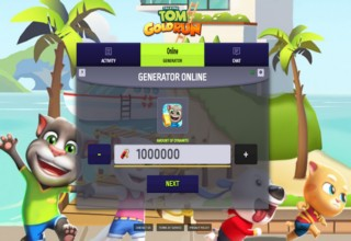 Talking Tom Gold Run 4